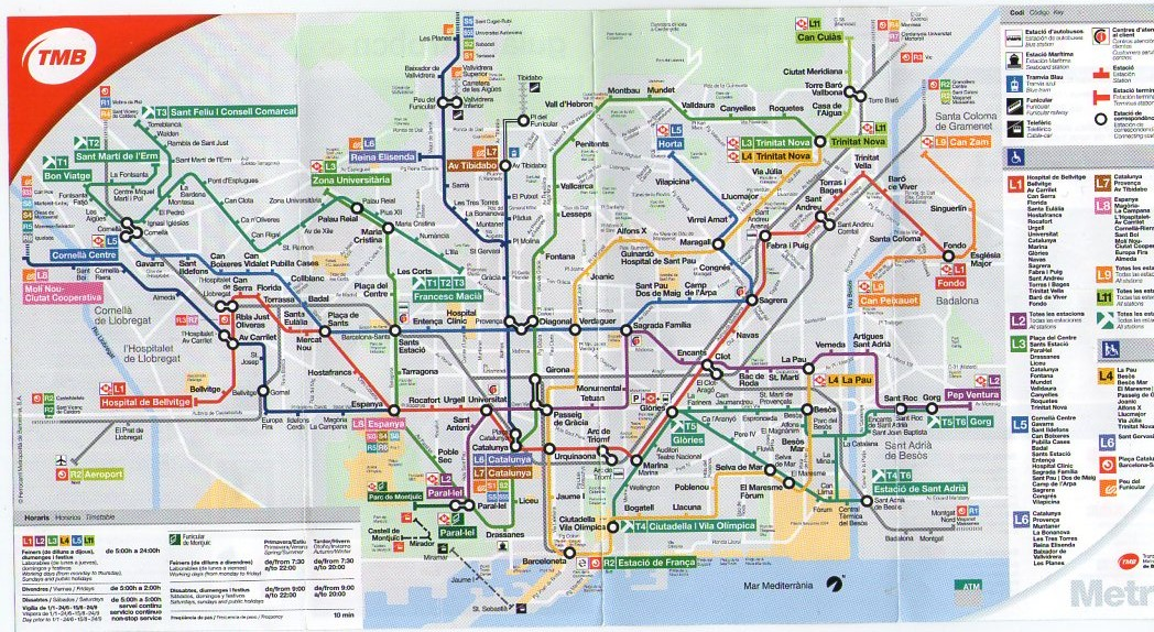 Public Transportation Barcelona Guide