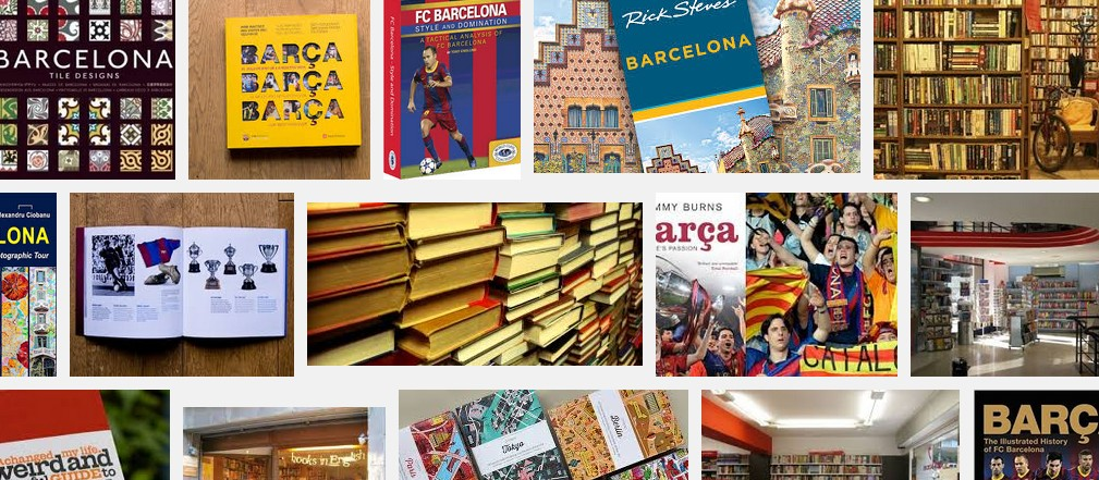 Books about Barcelona