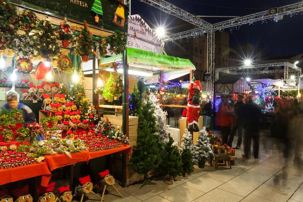 Christmas markets in Barcelona in 2016