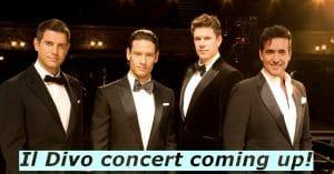 Il Divo concert in Barcelona