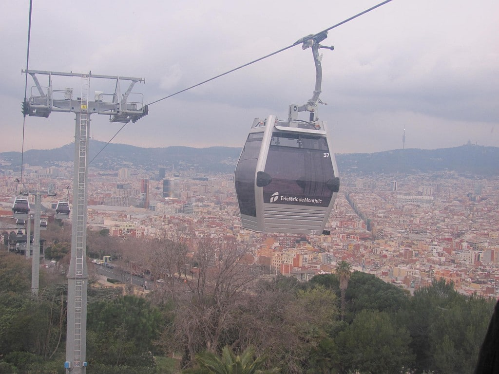 Montjuic Cable Cars