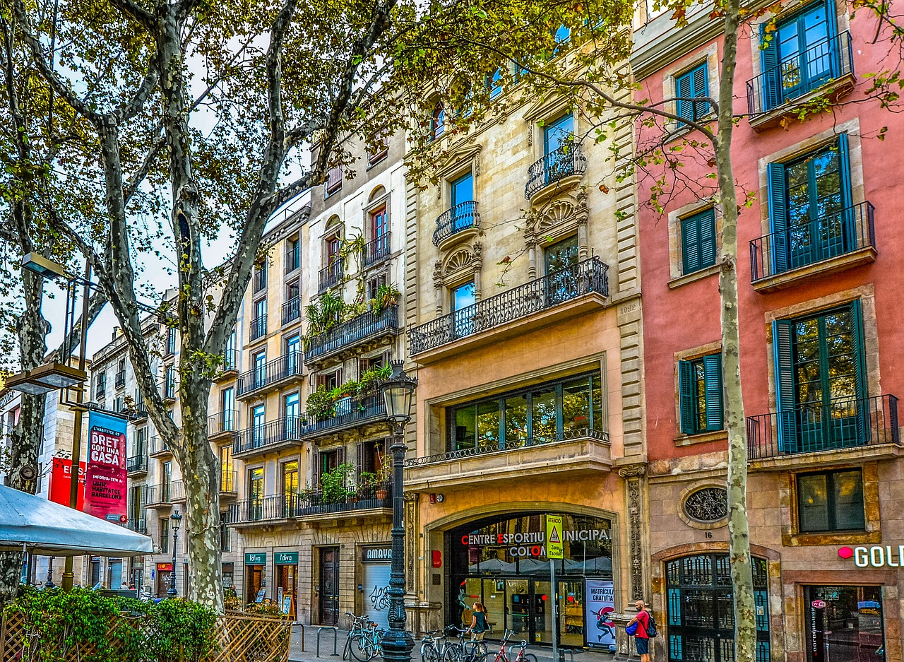 Colorful Barcelona