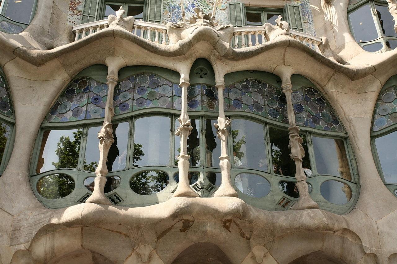 Gaudi style in Barcelona